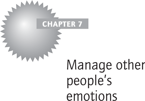 Manage other people's emotions