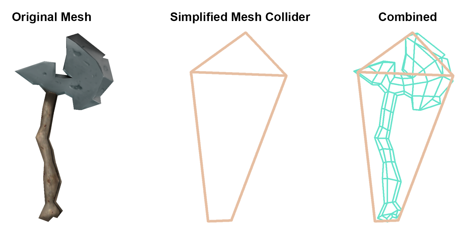 Use simpler Mesh Colliders - Unity 2017 Game Optimization