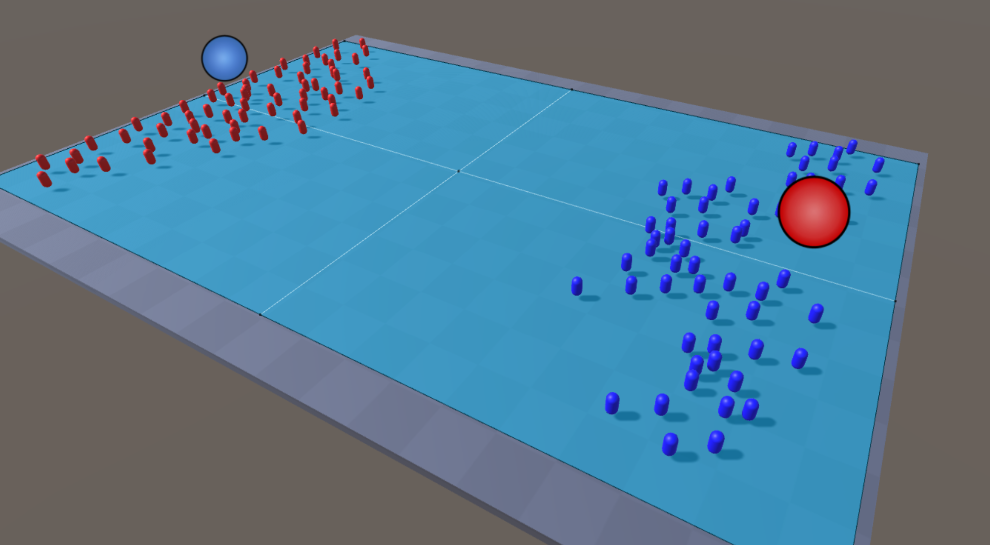 Implementing a simple crowd simulation - Unity 2017 Game AI