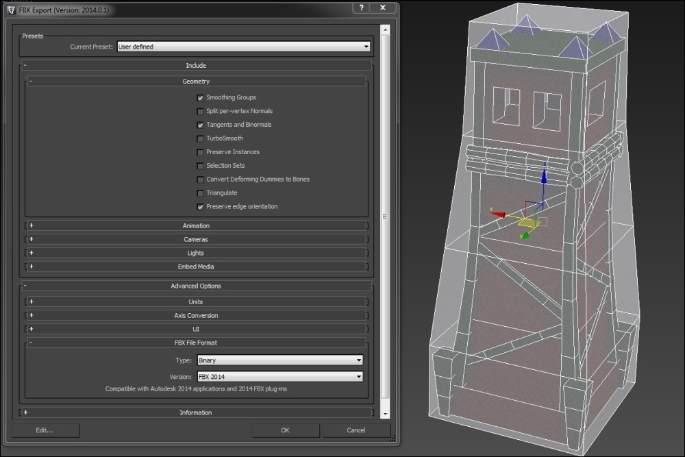 Exporting and importing - Unreal Engine 4 Game Development