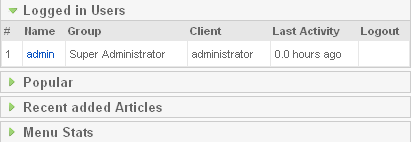 Administrator Modules