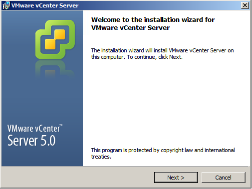 vCenter Server installation