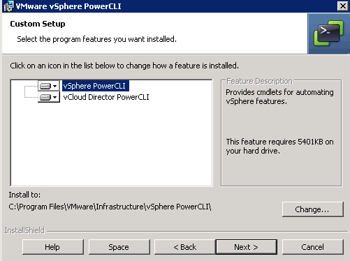 Installing PowerCLI