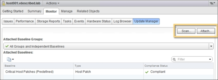 Installing the vSphere Update Manager plugin