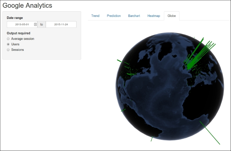threejs - Web Application Development with R Using Shiny - Second