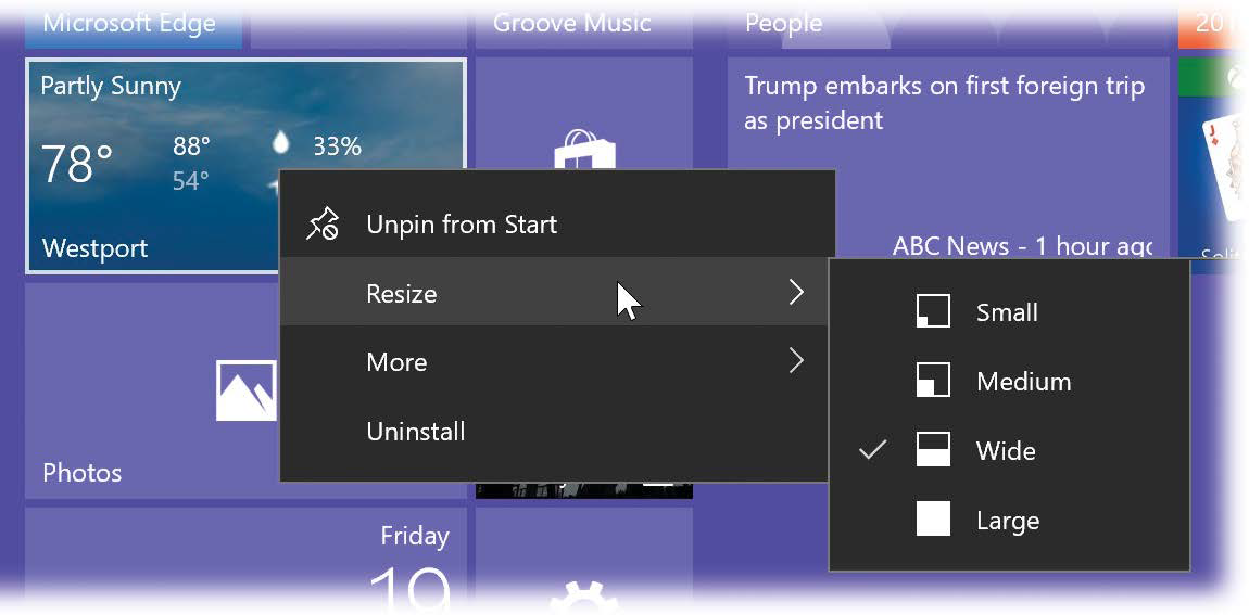 1  Desktop & Start Menu - Windows 10 May 2019 Update: The