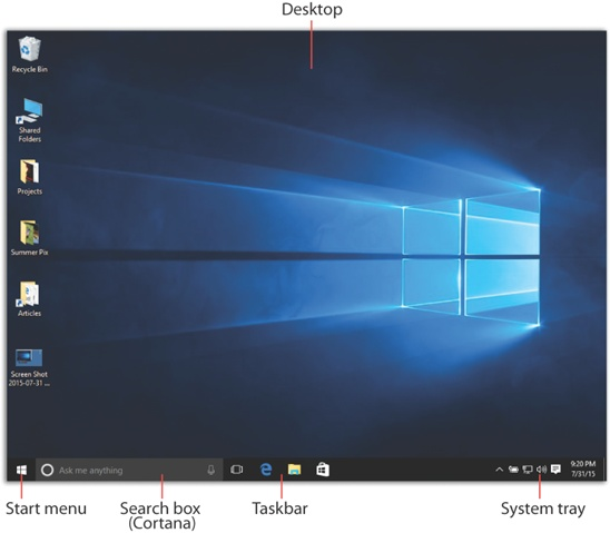 1  Desktop & Start Menu - Windows 10: The Missing Manual [Book]