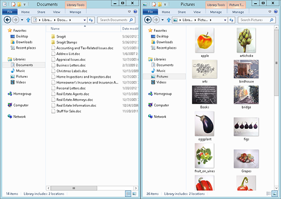 Opening Two Instances of File Explorer - Windows 8 Five Minutes at a
