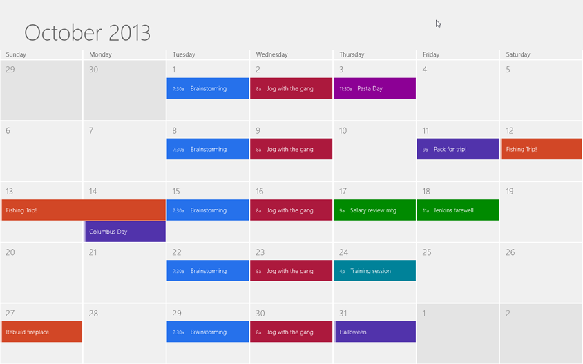 The Windows 8 calendar is very, very simple. In any of the views, just tap or click an appointment to open its information screen (Figure 4-3). If you want to make changes, well, here's your chance.