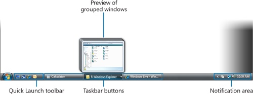 Using and Modifying the Taskbar
