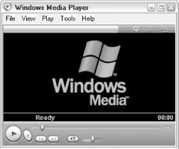 Windows Media Player is used to play video and audio clips
