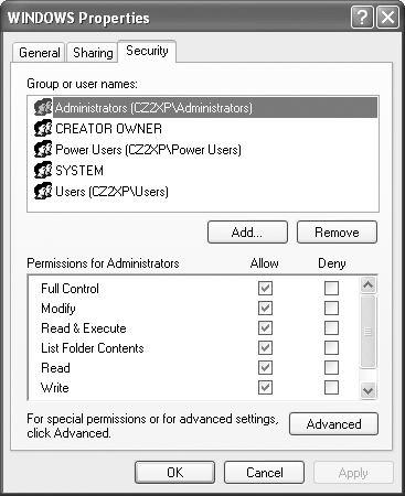 how to get administrator permission on windows xp