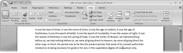 1  Creating, Opening, and Saving Documents - Word 2007: The