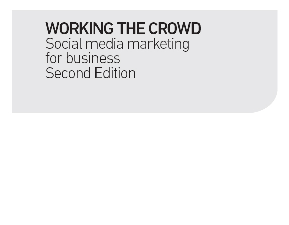 working the crowd social media marketing for business