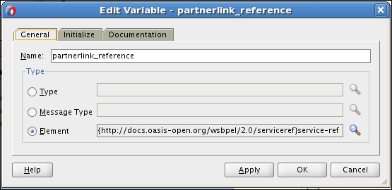 Time for action – initializing a dynamic partner link