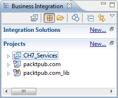 Implementing a process in WebSphere Integration Developer