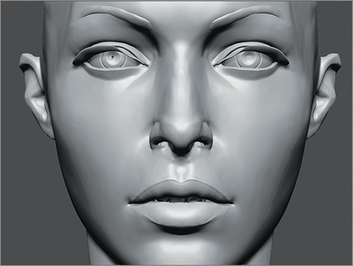 Chapter 3: The Head and the Face - ZBrush® Studio Projects