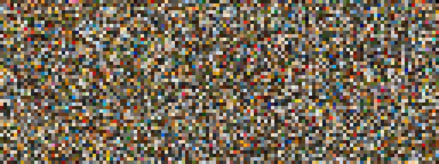 6,144 colours in random order.