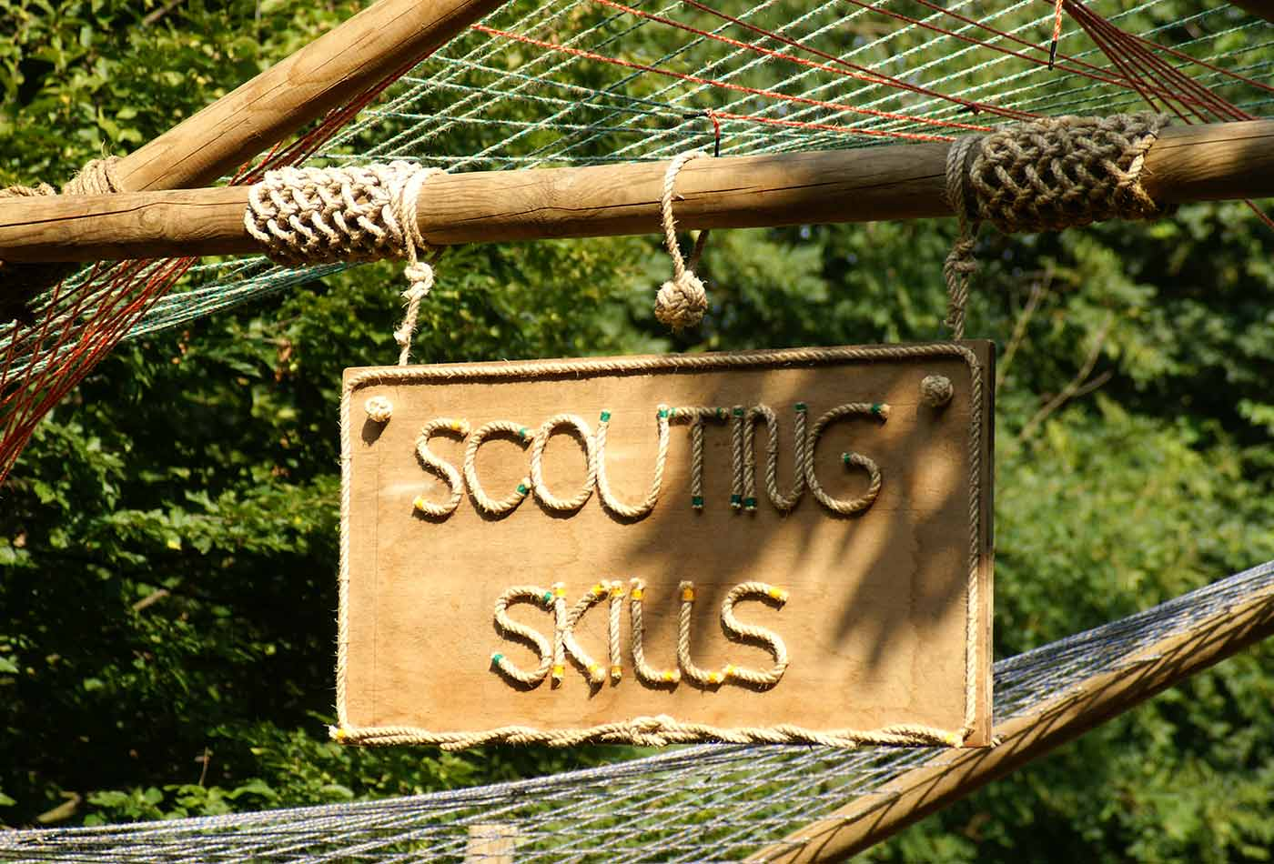 Scouting Skills at Gilwell Park