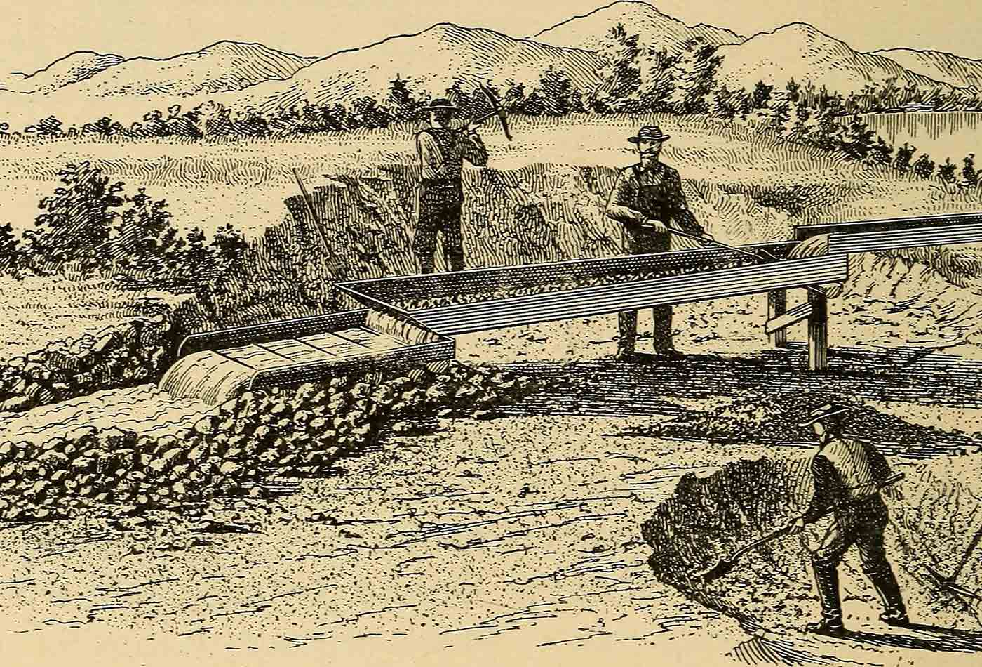 """Placer mining. A hand-book for Klondike and other miners and prospectors."""" (1897)"""