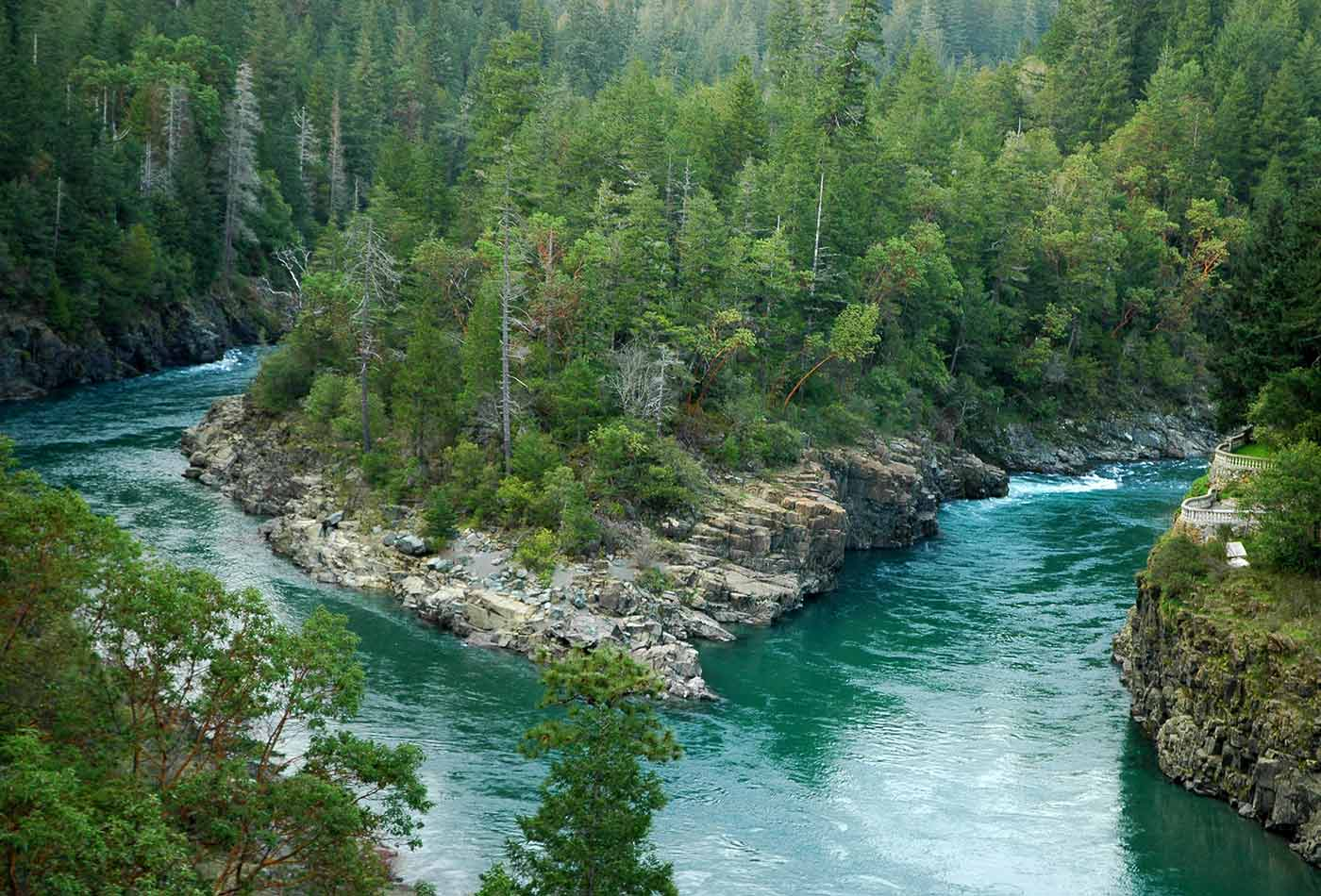 Klamath River.