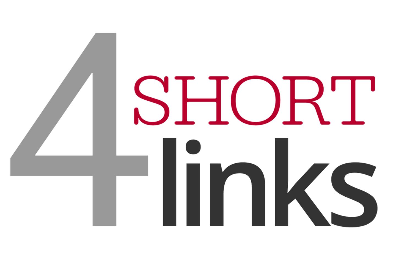 Four short links.