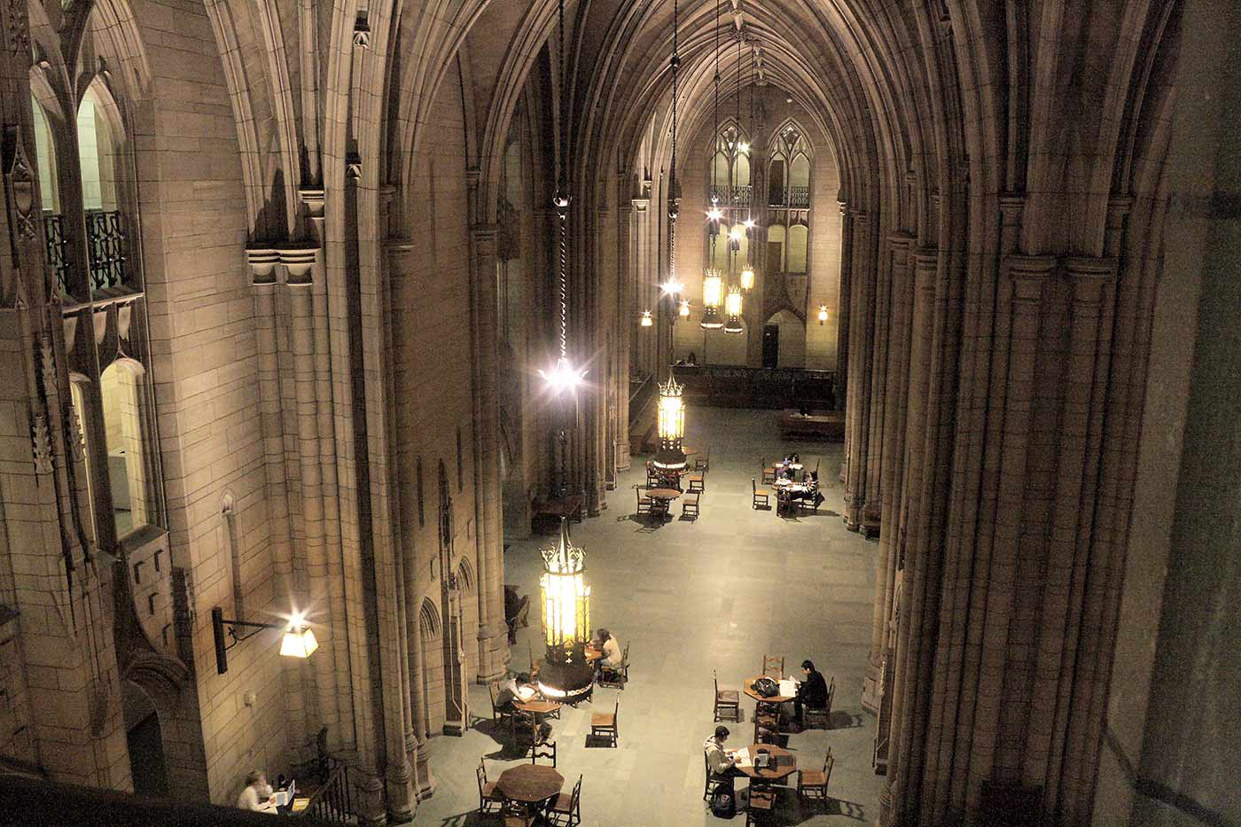 Cathedral of Learning, Commons Room.
