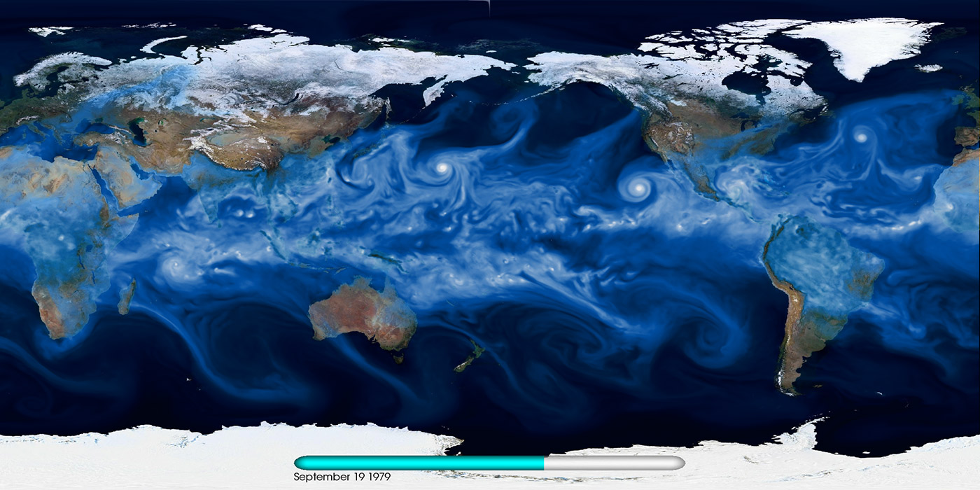 water vapor from a high-resolution CAM5 model output