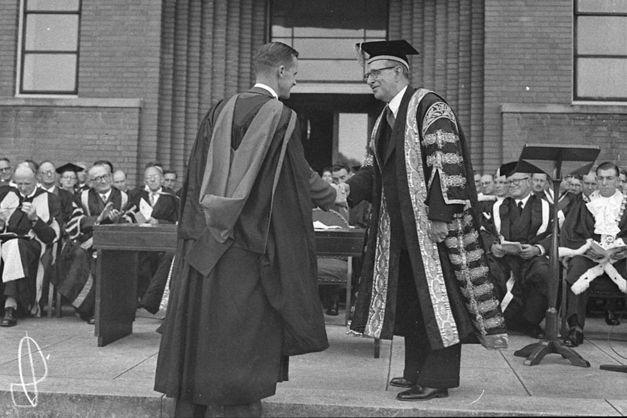 Doctor of Philosophy of the School of Mechanical Engineering Graduation