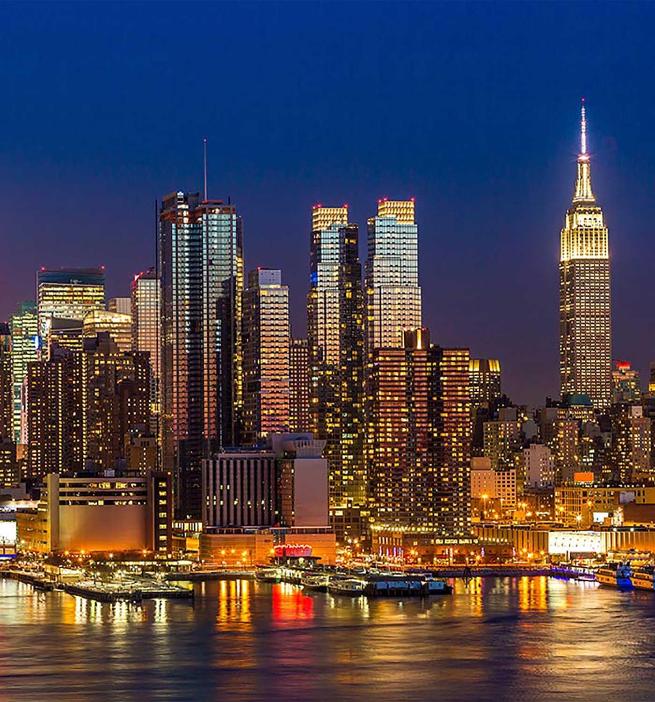 New York City skyline - AI NY 2018