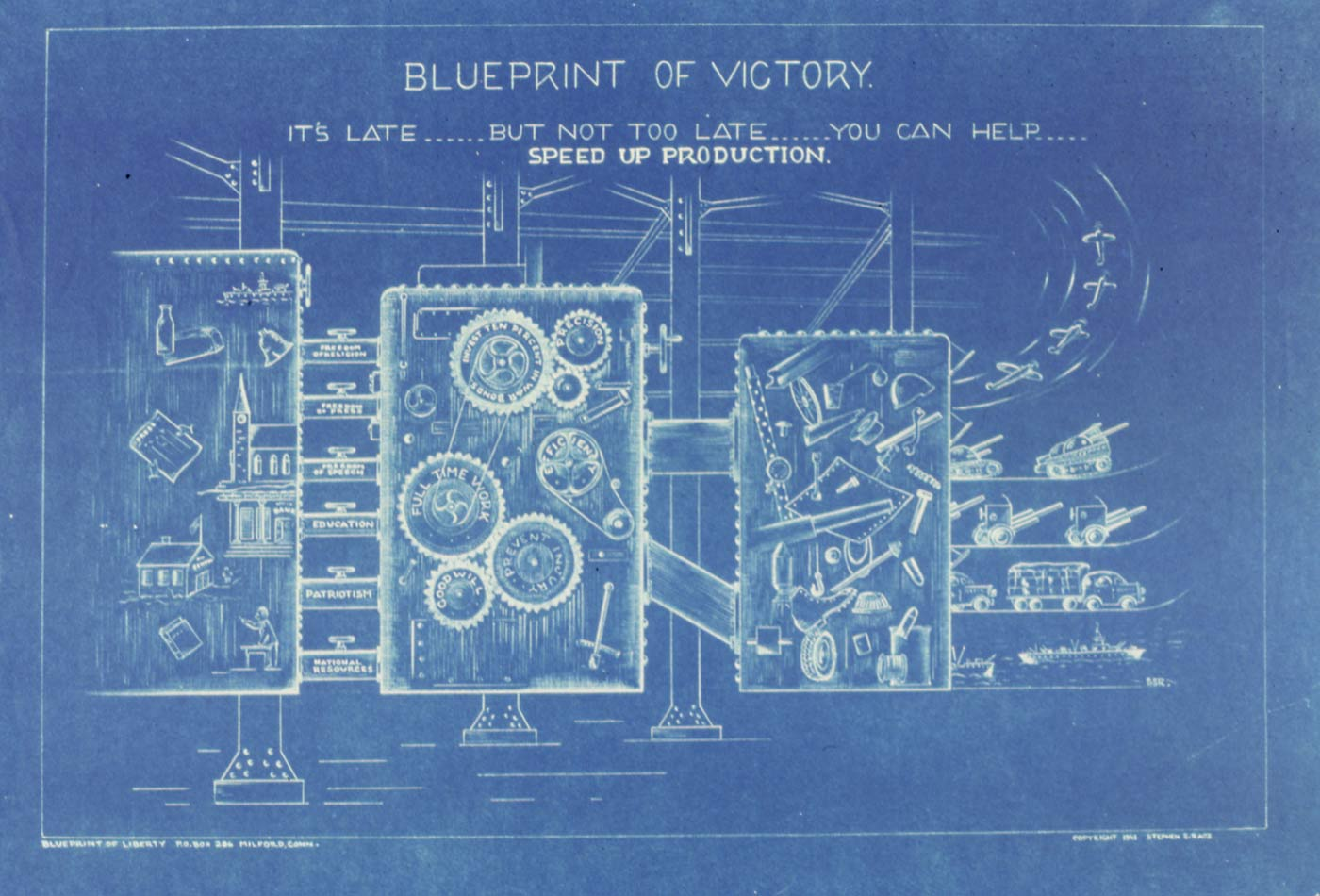 Blueprint of Victory.