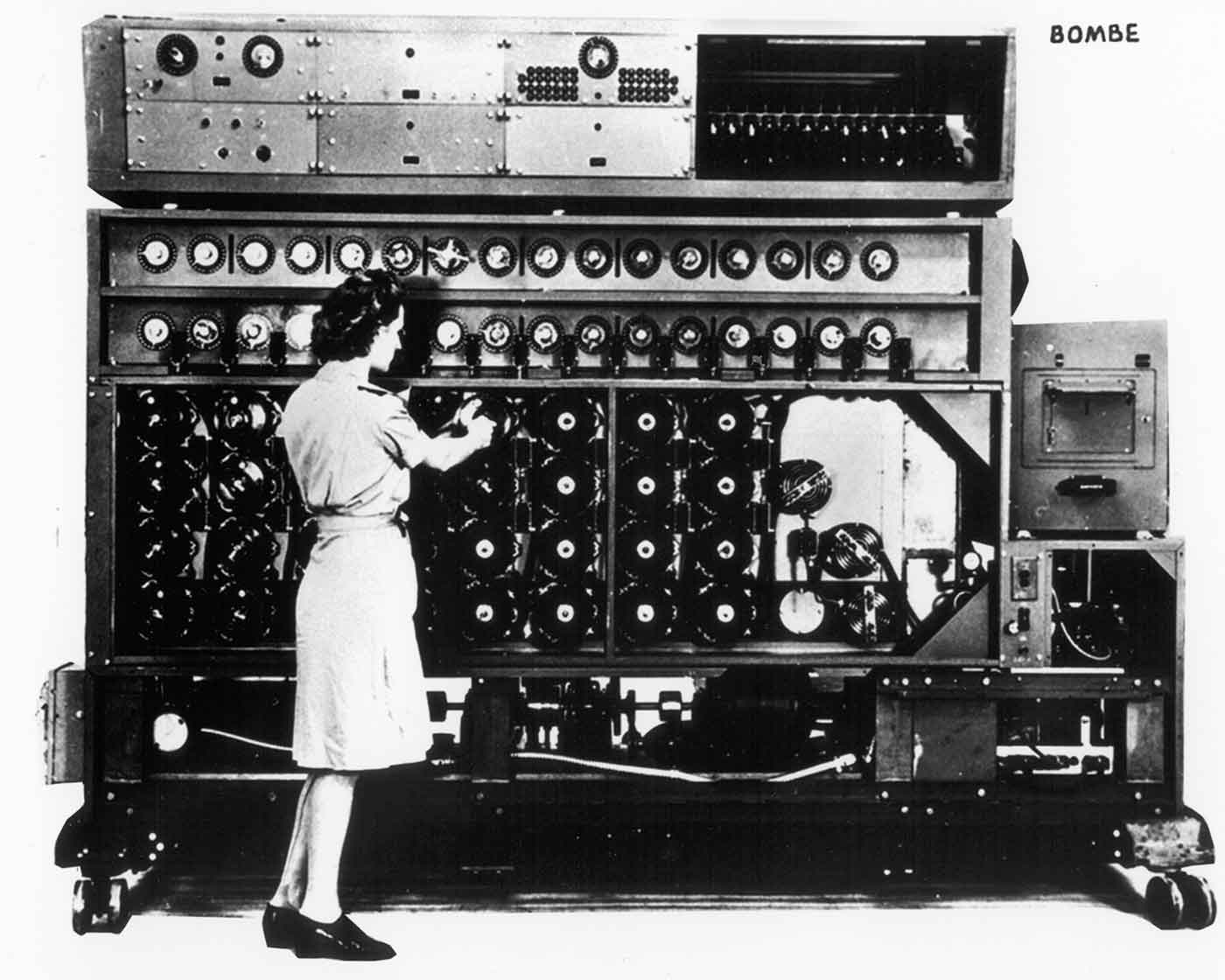 Bombe computing device.