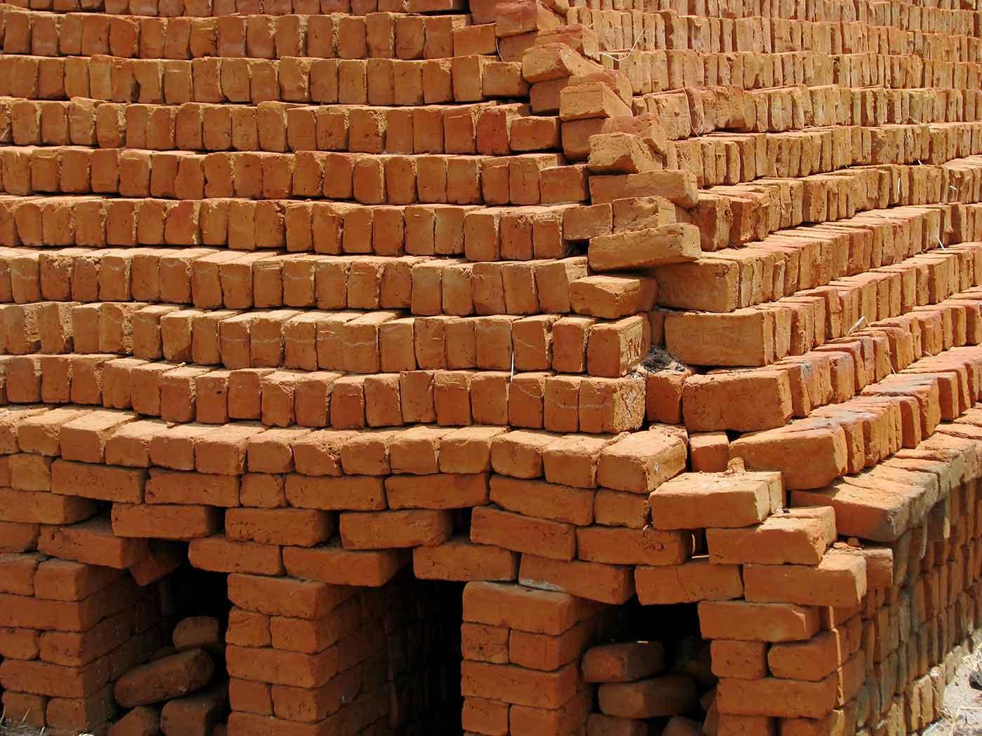 Rural Brick Making Kiln