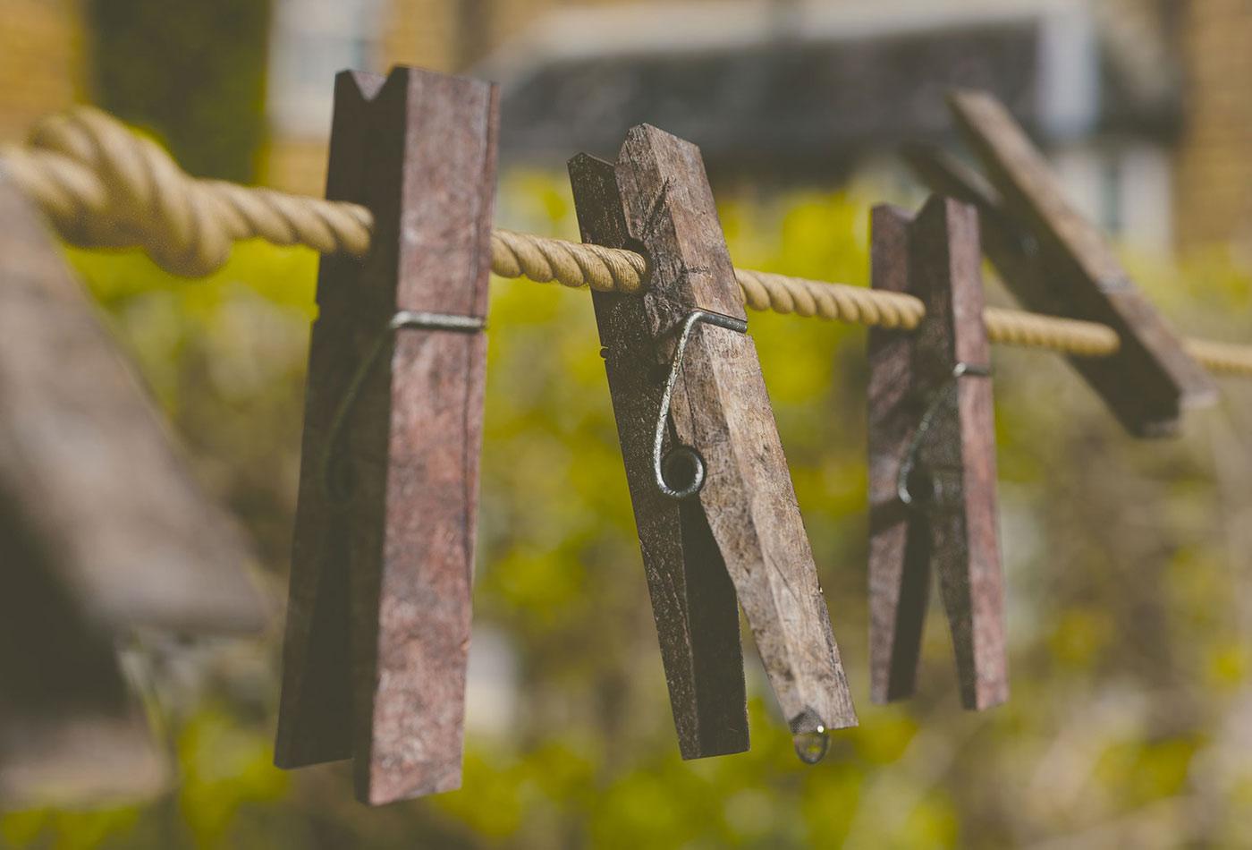 Clothespins.
