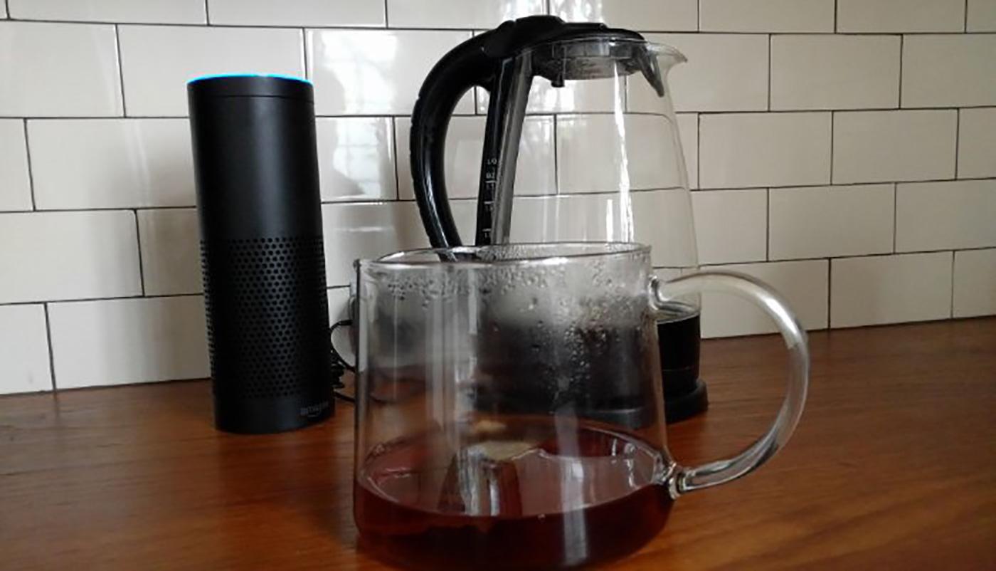 Morning tea with Alexa