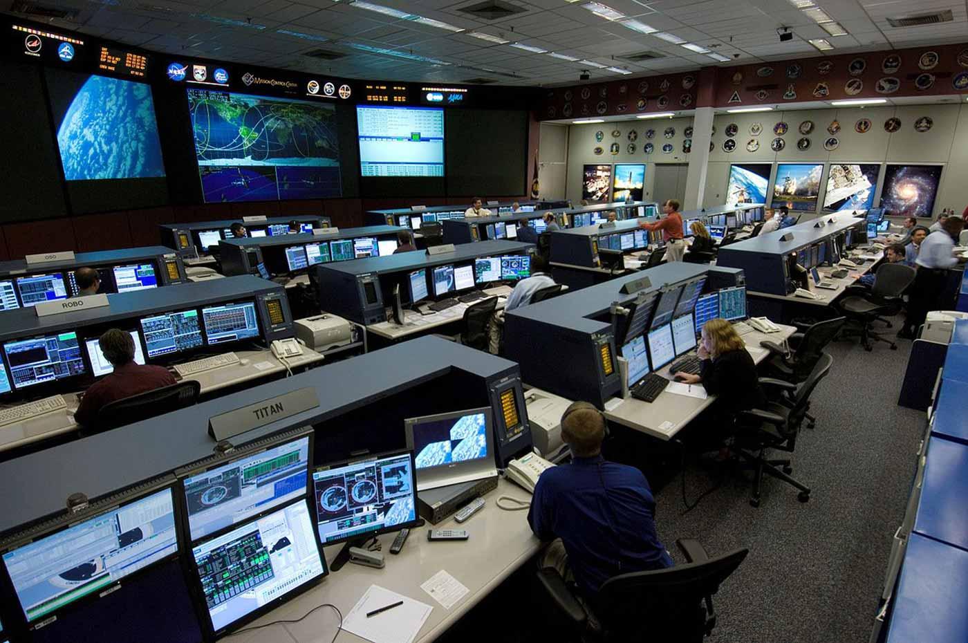 International Space Station control center