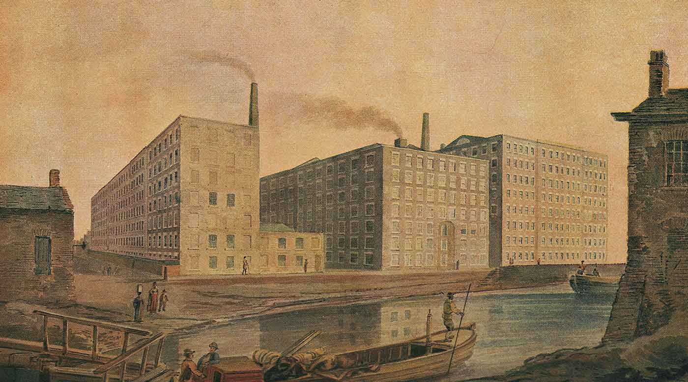 McConnel & Company mills, about 1820