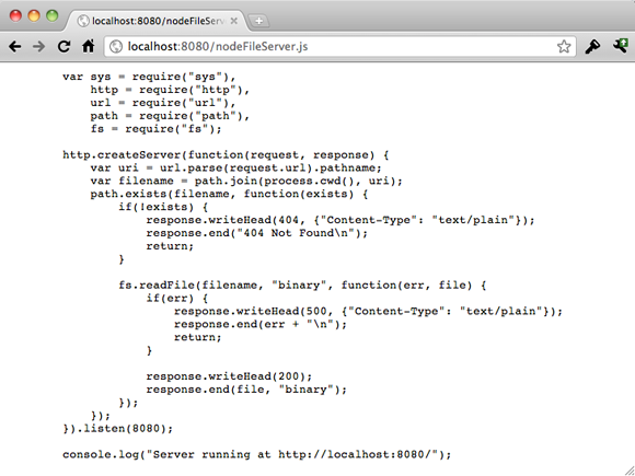 File server browser