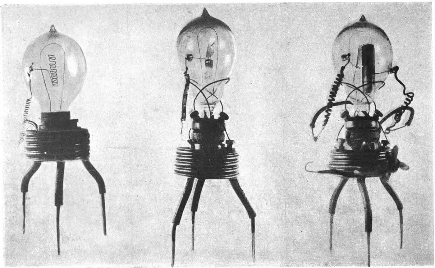 The first prototype Fleming valves.