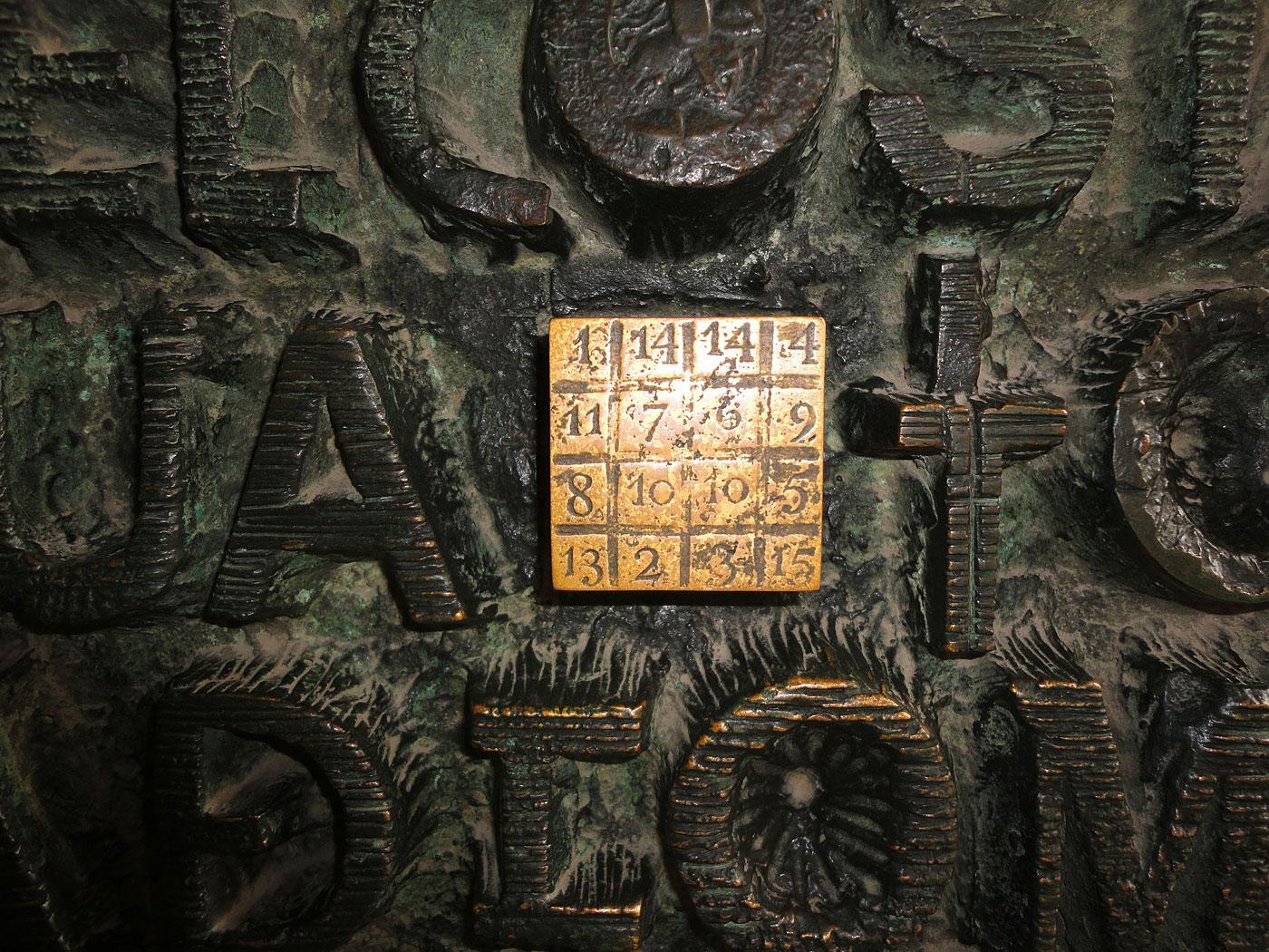 Sagrada Família magic square