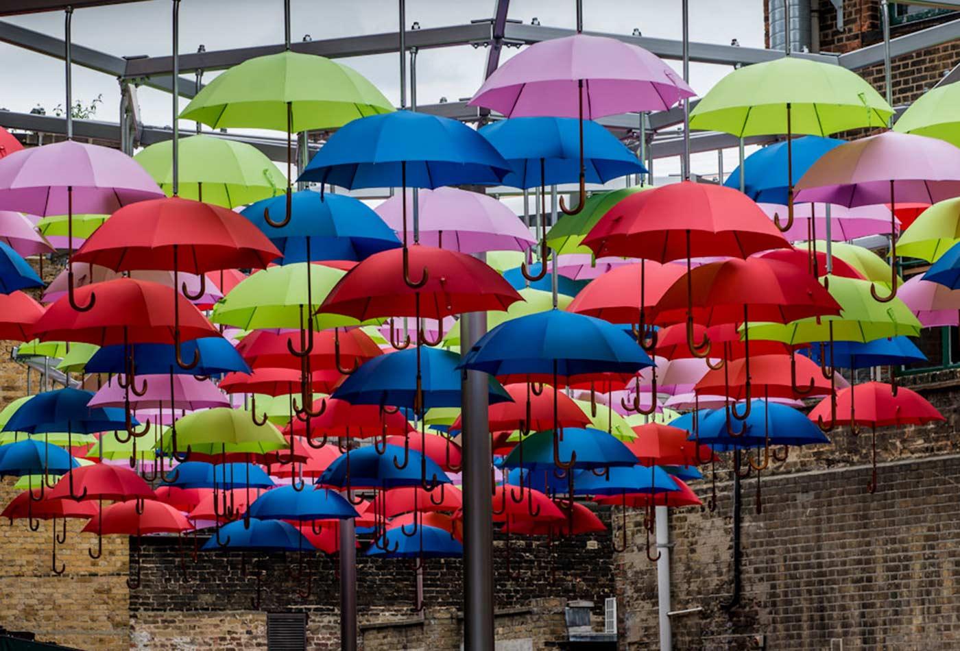 Its raining umbrellas again.