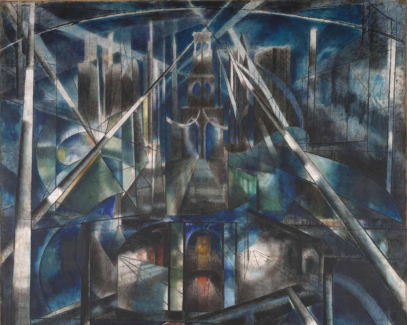 """""""Brooklyn Bridge,"""" by Yale University Art Gallery"""