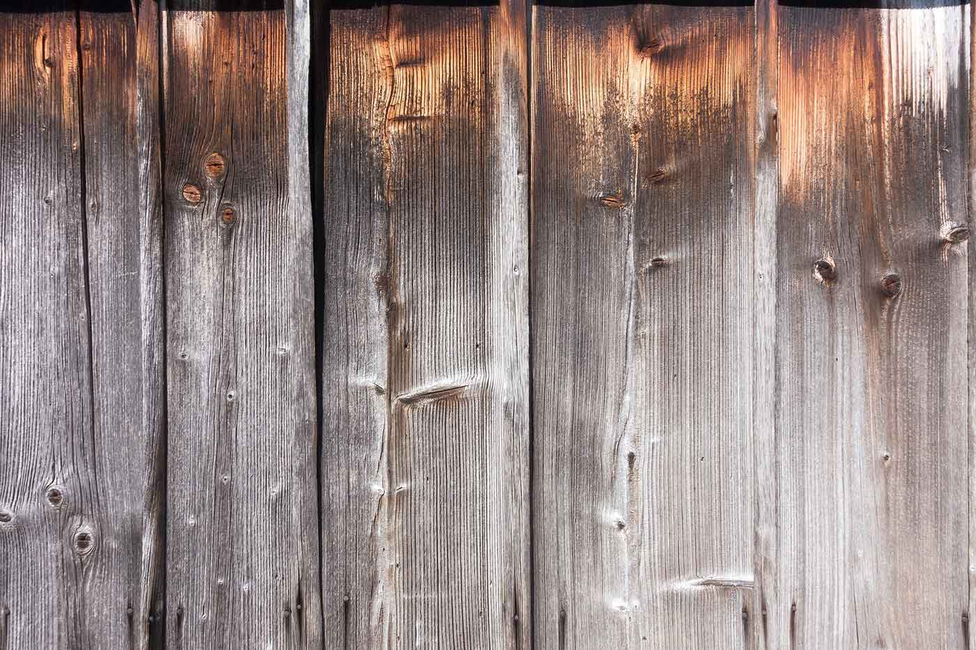 Old barn planks