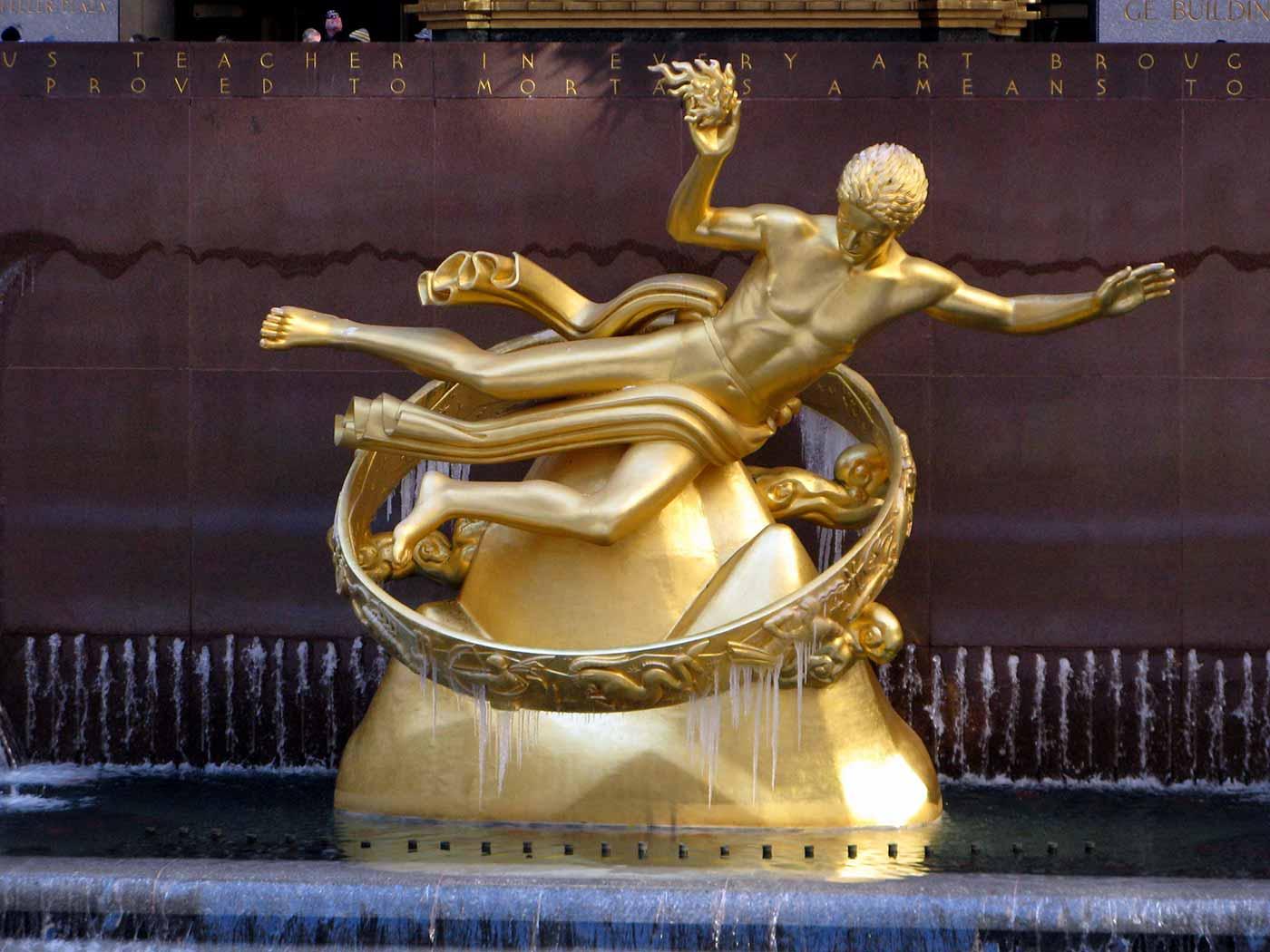 Prometheus at Rockefeller Center