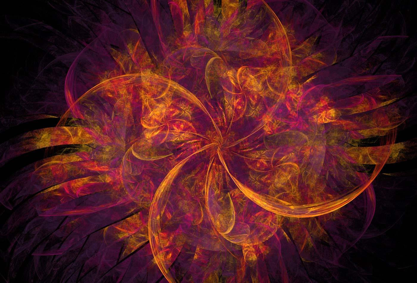 Orange fractal.