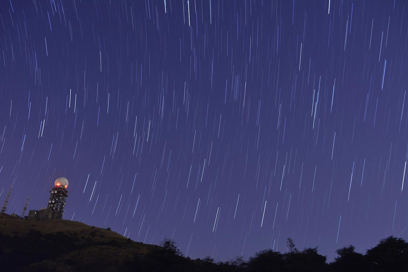 Time-lapse sky