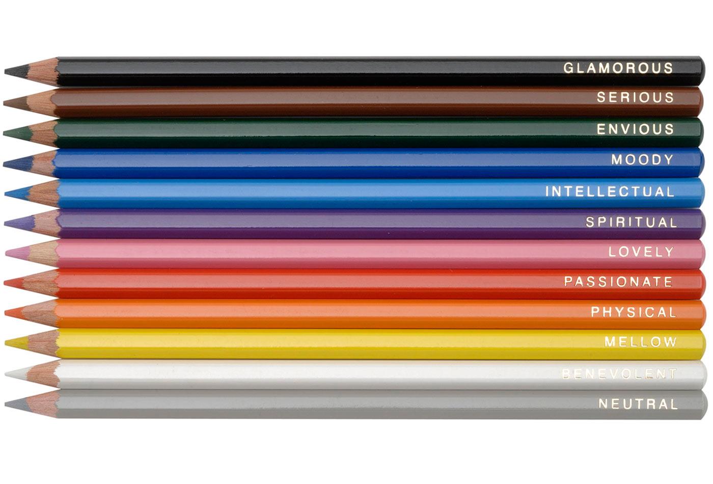 Pencil personalities.