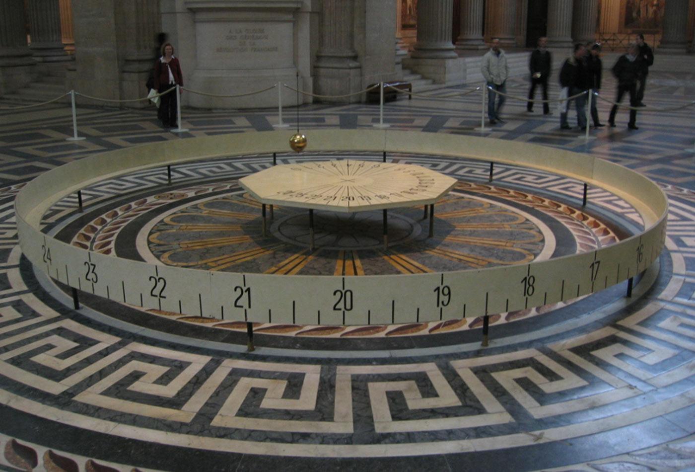 Pendule de Foucault du Panthéon de Paris.