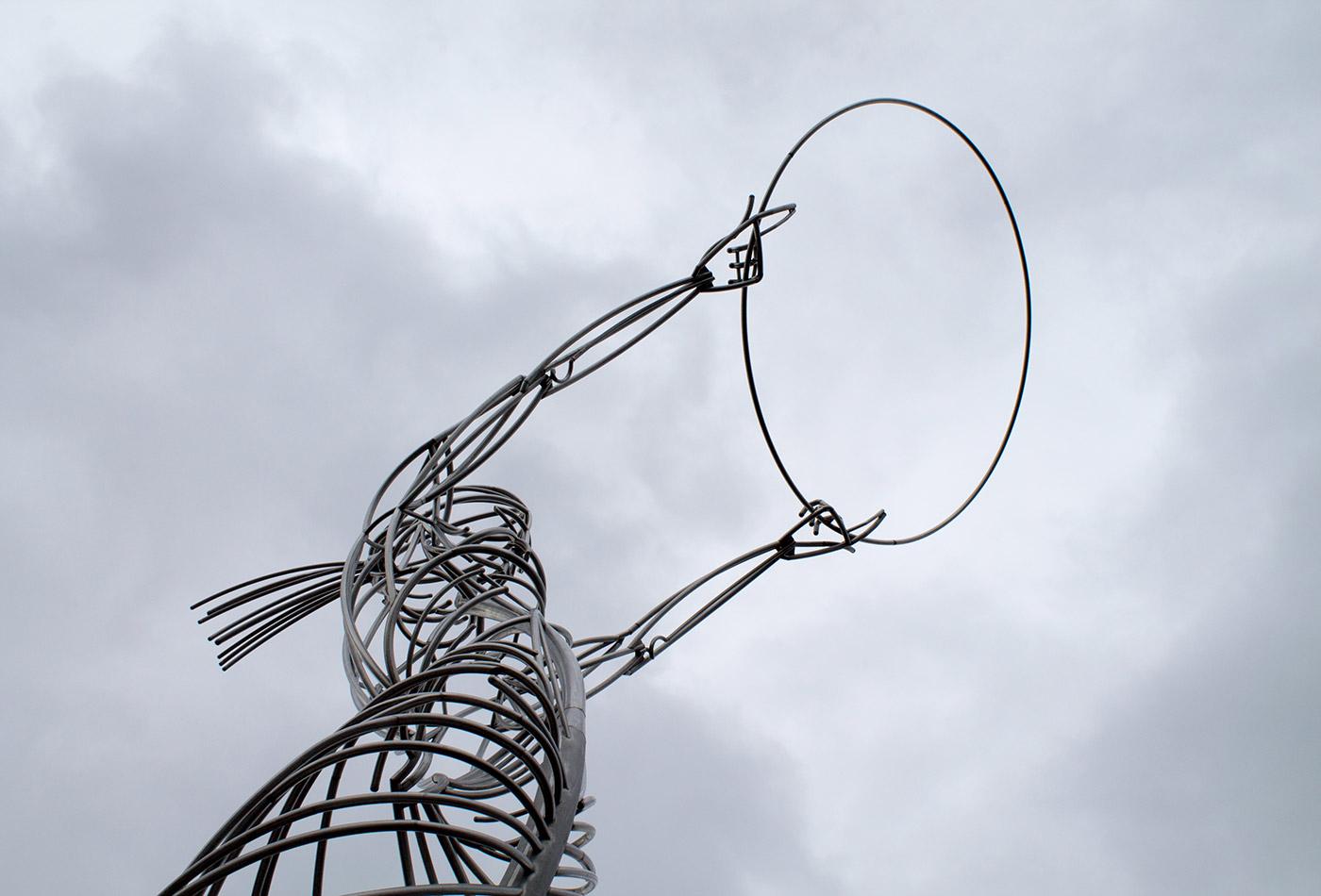 Wire art.