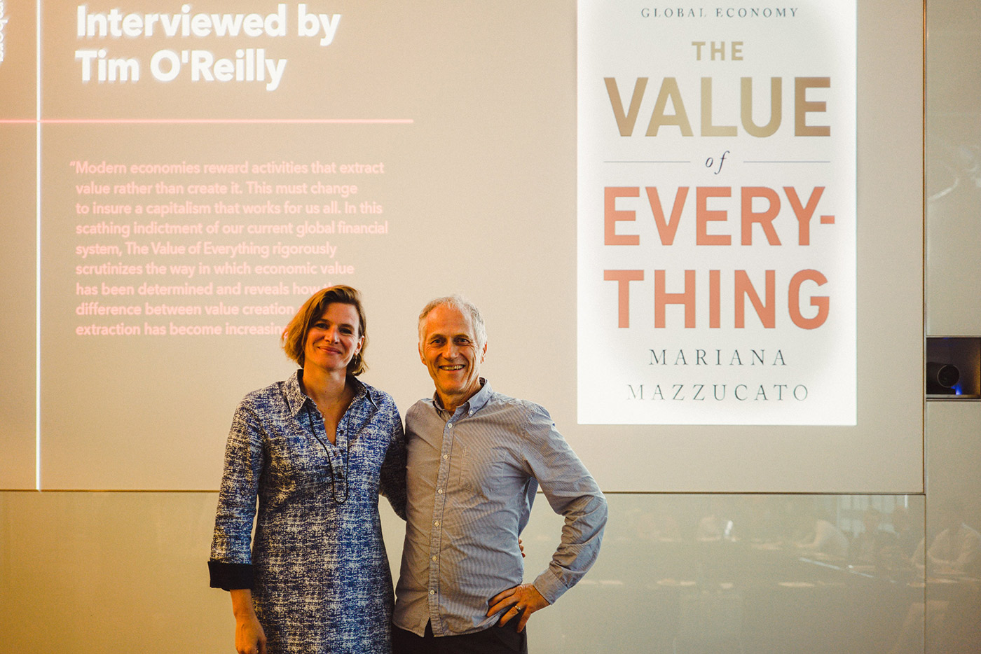 Mariana Mazzucato and Tim O'Reilly